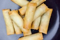 Spring rolls su daržovėmis 12vnt – 2.99€