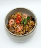 Kepti ryžiai su vištiena ir krevetėmis 6,39€